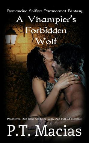 A Vhampier's Forbidden Wolf Book Cover