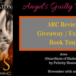 ARC Review: Ares (Guardians of Hades #1) by Felicity Heaton {Tour} ~ Giveaway/Excerpt
