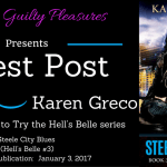 Guest Post: Karen Greco (Steele City Blues) ~ Giveaway