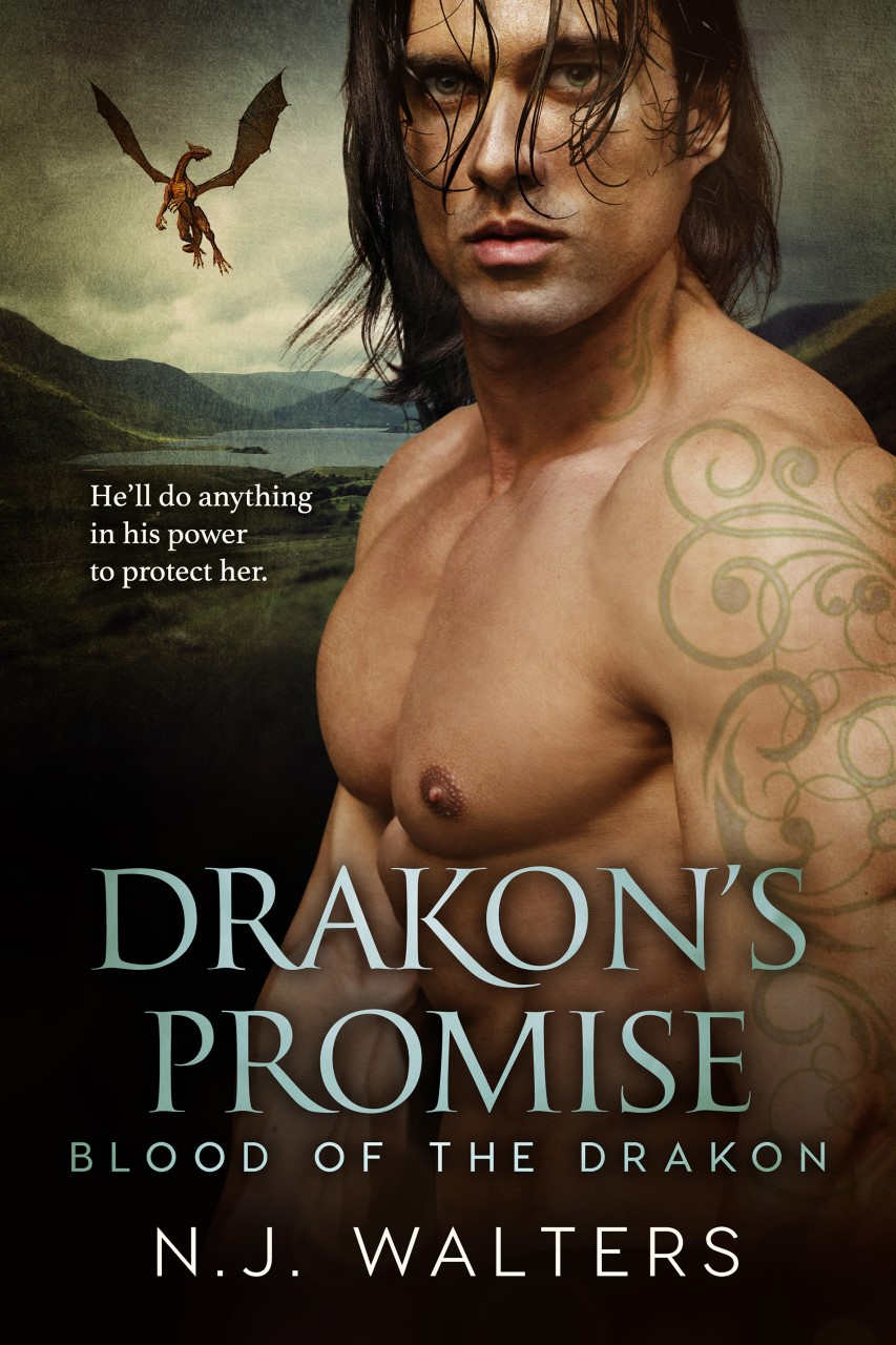 Drakon's Promise Book Cover