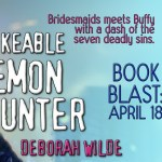 Release Day ARC Review: The Unlikeable Demon Hunter (Nava Katz #1) by Deborah Wilde ~ Giveaway/Excerpt