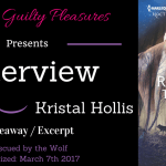 Interview: Kristal Hollis (Rescued by the Wolf) ~ Except