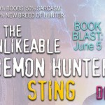 Book Blast: The Unlikeable Demon Hunter: Sting (Nava Katz #2) by Deborah Wilde ~ Excerpt
