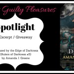 Excerpt: Caressed by the Edge of Darkness by Amanda J. Greene (Tour) ~ Giveaway