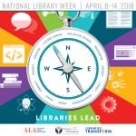 2018 National Library Week April 8-14