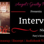 Interview: Nicola R. White (Fury's Kiss) ~ Giveaway/Audio Excerpt