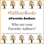 #FallIntoBooks #FavoriteAuthors