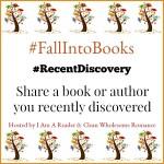 #FallIntoBooks #RecentDiscovery