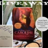 Win It Wednesday: Stockholm Diaries, Caroline by Rebecca Hunter