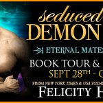Seduced by a Demon King (Eternal Mates) by Felicity Heaton ~ #Excerpt #BookTour
