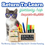 Return To Learn Giveaway Hop ~ Aug. 4th – 18th