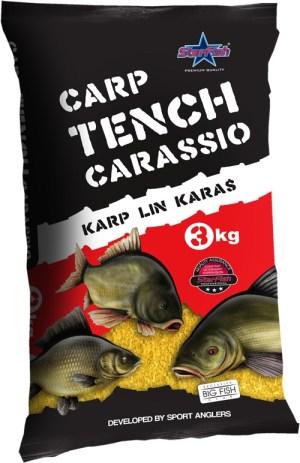 Futtermittel Carp Tench Carassio 3000g In 5 Verschiedenen Sorten
