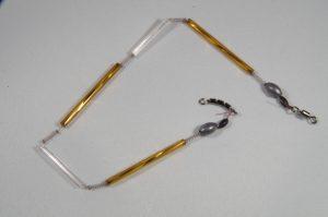 Trout-Flash EDITION MICHA Reflex-Glas-Feder-Kette