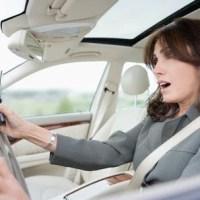 Mulher ao volante...