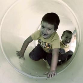 Playground Tube Boys