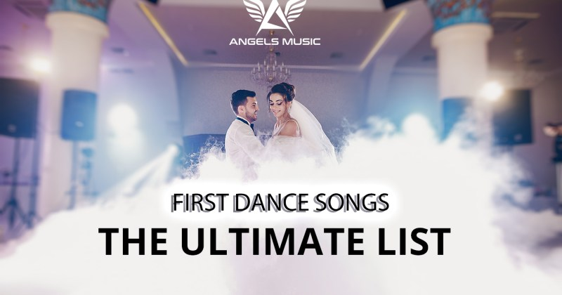 ultimate list of first dance songs