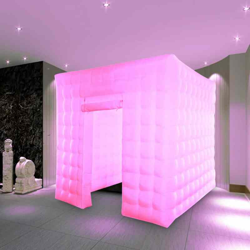 inflatable led enclosure photo booth rental Los Angeles