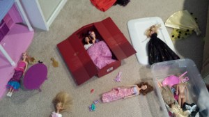 The Macallan Rare Cask serves just wonderfully for a Barbie slumber party.