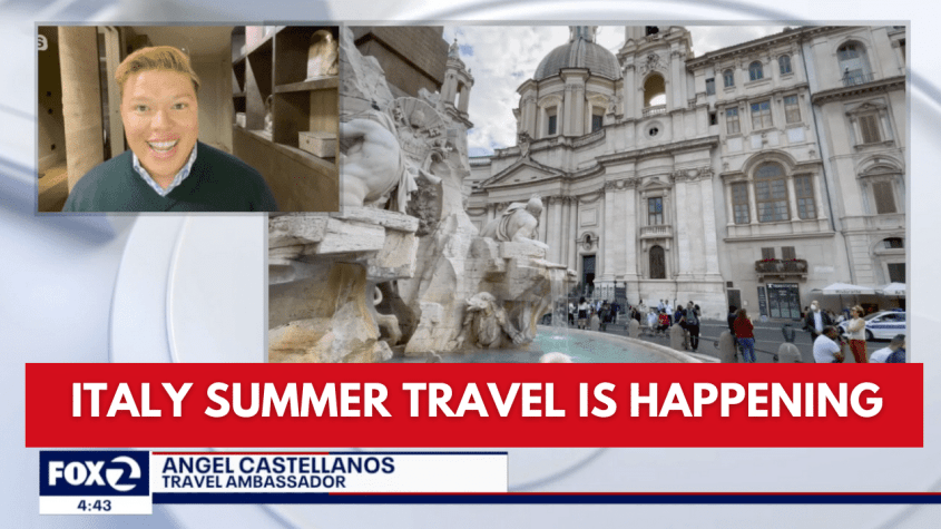 Italy summer travel is happening. There are new Entry Requirements into Italy From the USA