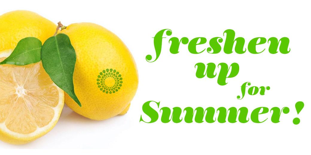Freshen Up For Summer