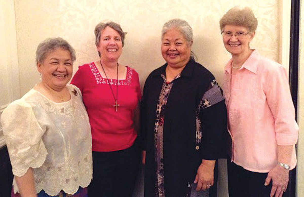 Maryknoll Leadership Team Includes Bishop Amat Grad