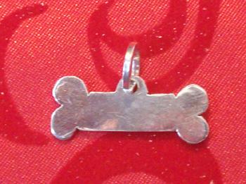 Dog Bone Collar Tag