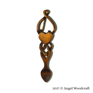 126 Golf Lover's Welsh Love Spoon 2 1