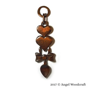 47 Love Engraved on a Heart Welsh Love Spoon 2 1