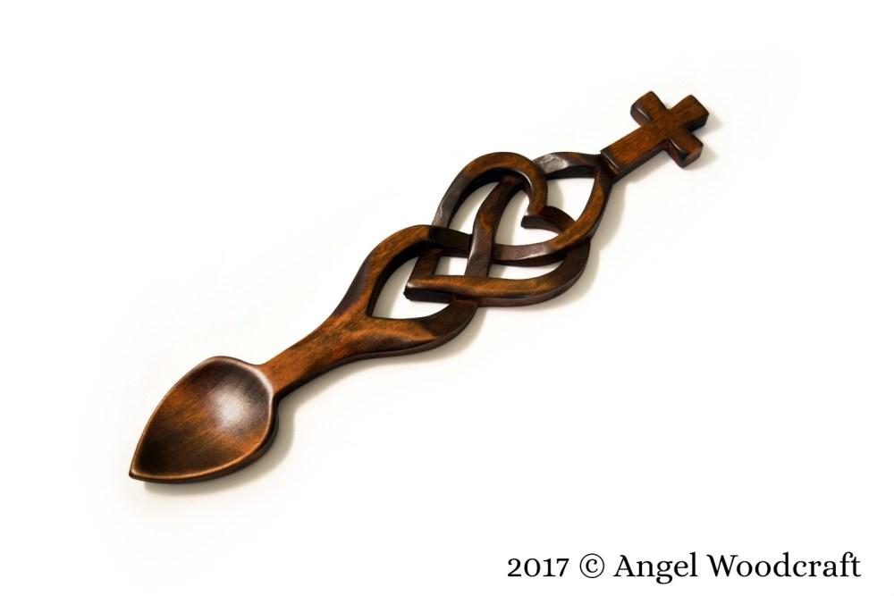 Never-ending Faith Welsh Love Spoon
