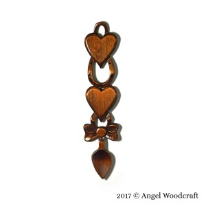 78 Celebration of a Special Occasion Welsh Love Spoon 2 1