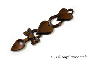 Celebration of a Special Occasion Welsh Love Spoon
