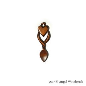 CWB Warm Overcoat Welsh Love Spoon 2 1