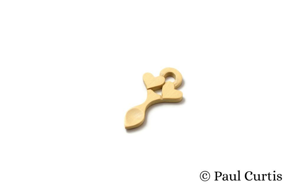 Endearing Love Miniature Welsh Love Spoon - WM15 2