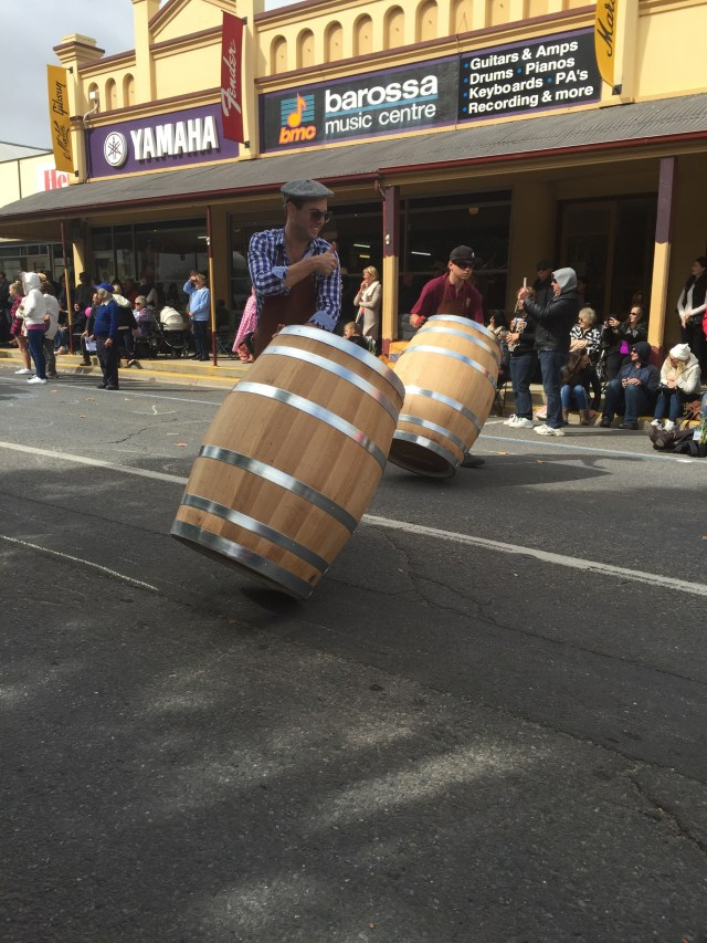 Impressed these guys rolled the barrels the whole 7km