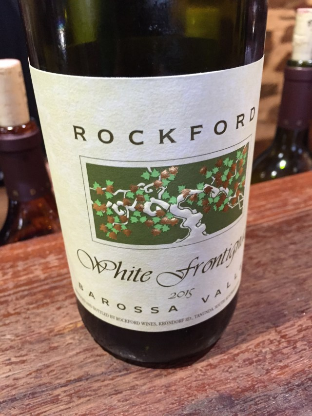 2015 White Frontignac - my first 2015 vintage wine
