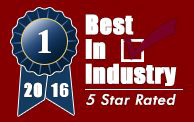 Best In Industry Seal 2016