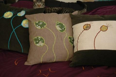 Applique Pillows 2008