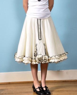 OOAK Skirt sold on Etsy 2010
