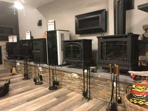 Angerstein's fireplace and stove showroom