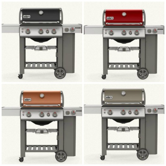 Weber grill new cover colors
