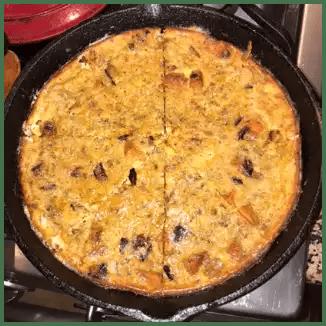 fritata in pan