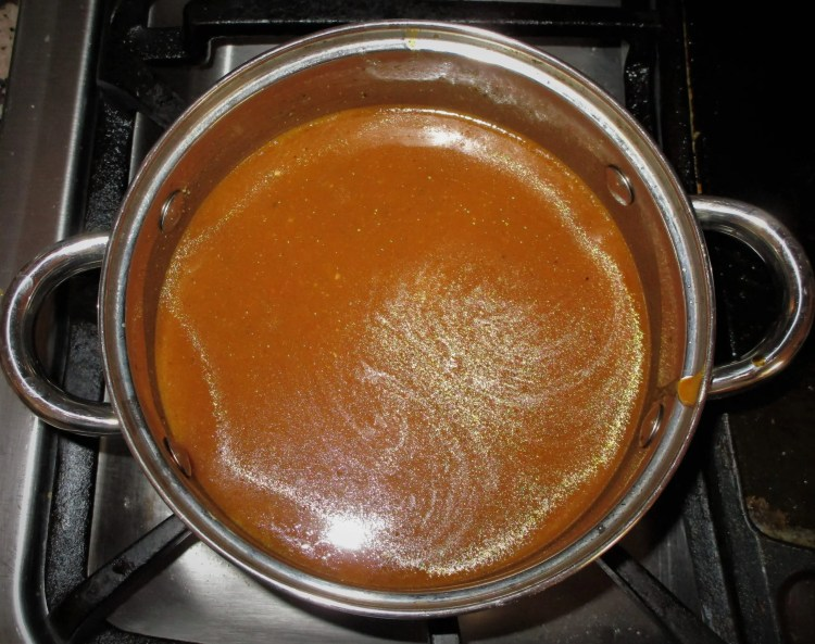 cooking bbq sauce