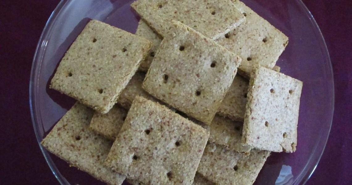 finished graham crackers on dish