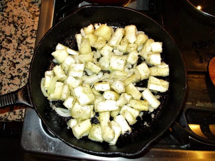 yucca potato side