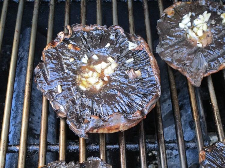 portobello on grill