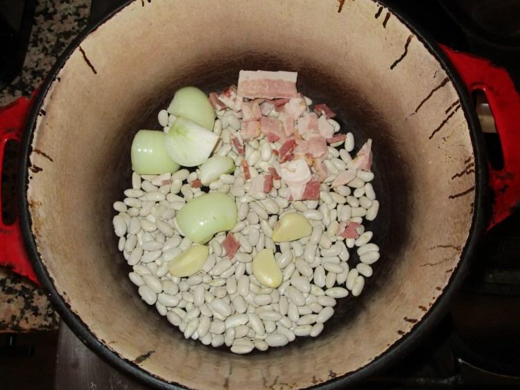 starting white beans