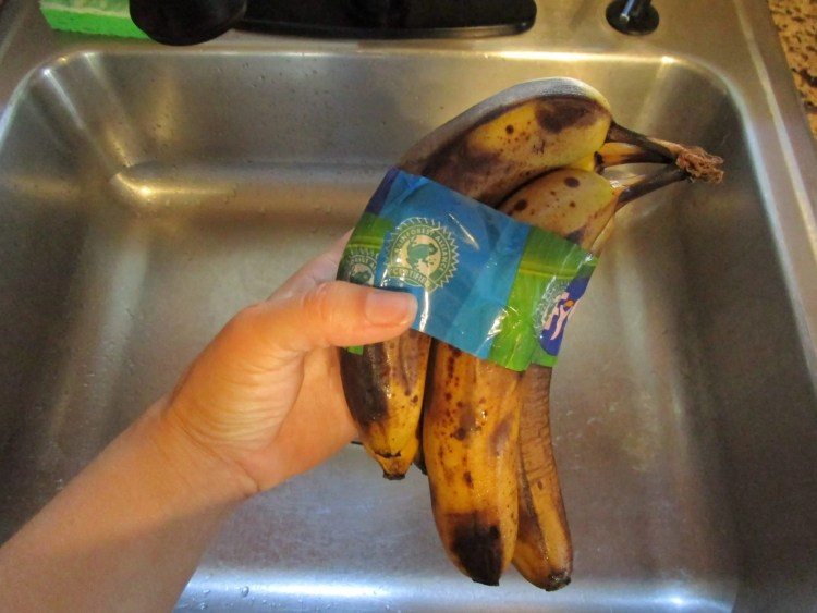 found banana for banana chocolate swirl cake