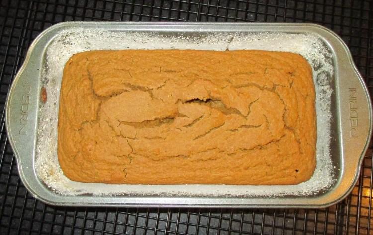 cooling butternut squash blender bread