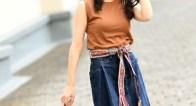 セールでGET!夏のマンネリコーデを打破する「変形デニムスカート」5選