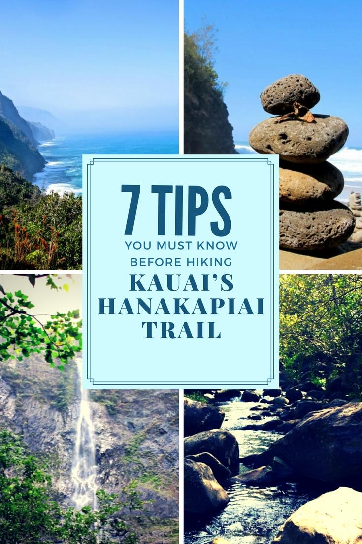 Tips for hiking the Hanakapia Falls trail!